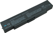 Laptop Battery Pros - 6-cell Lithium-ion Battery For Select Sony Vaio Laptops - Black