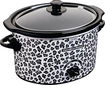 Hamilton Beach - 3-Quart Slow Cooker - Cheetah Skin