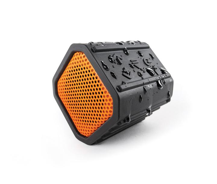 ECOXGEAR - ECOPEBBLE Bluetooth Waterproof Speaker - Orange