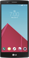 LG - G4 Cell Phone - Genuine Black Leather (Sprint)