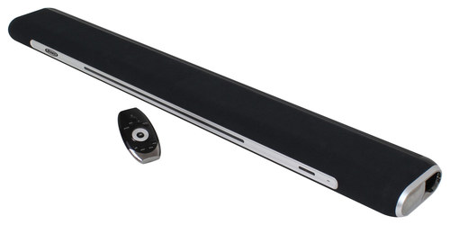 Jensen - 2.1-Channel Soundbar with Built-in Subwoofer - Black