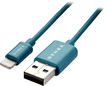 Dynex™ - 3' USB-to-Lightning Charge-and-Sync Cable - Emerald