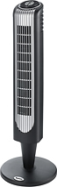 Holmes - Oscillating Tower Fan - Black