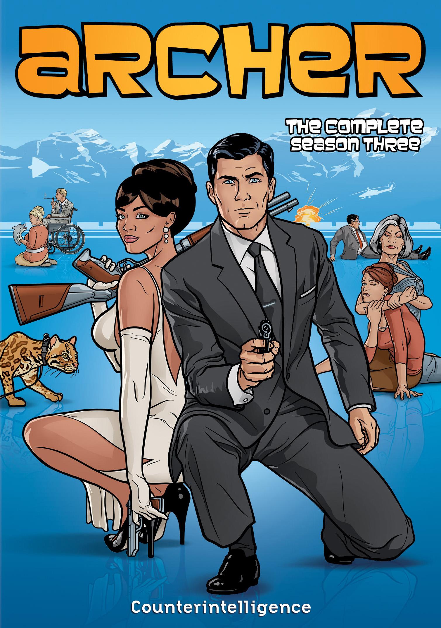 Archer: The Complete Season Three [2 Discs] (dvd) 7120086
