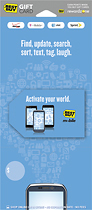 Best Buy Gc - $30 Activate Your World Mobile Gift Card