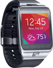 Samsung - Geek Squad Certified Refurbished Gear 2 Smart Watch with Heart Rate Monitor - Silver/Black