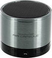 TekNmotion - Air Capsule Portable Speaker for Most Bluetooth-Enabled Devices - Black/Silver