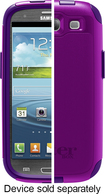 OtterBox - Commuter Series Case for Samsung Galaxy S III Cell Phones - Purple