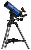 Meade - Infinity 80mm Altazimuth Refractor Telescope - Blue/Silver/Black