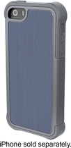 Ballistic - Tungsten Tough Case for Apple® iPhone® 5 and 5s - Gray/Blue