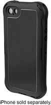Ballistic - Tungsten Sport Case for Apple® iPhone® 5 and 5s - Black
