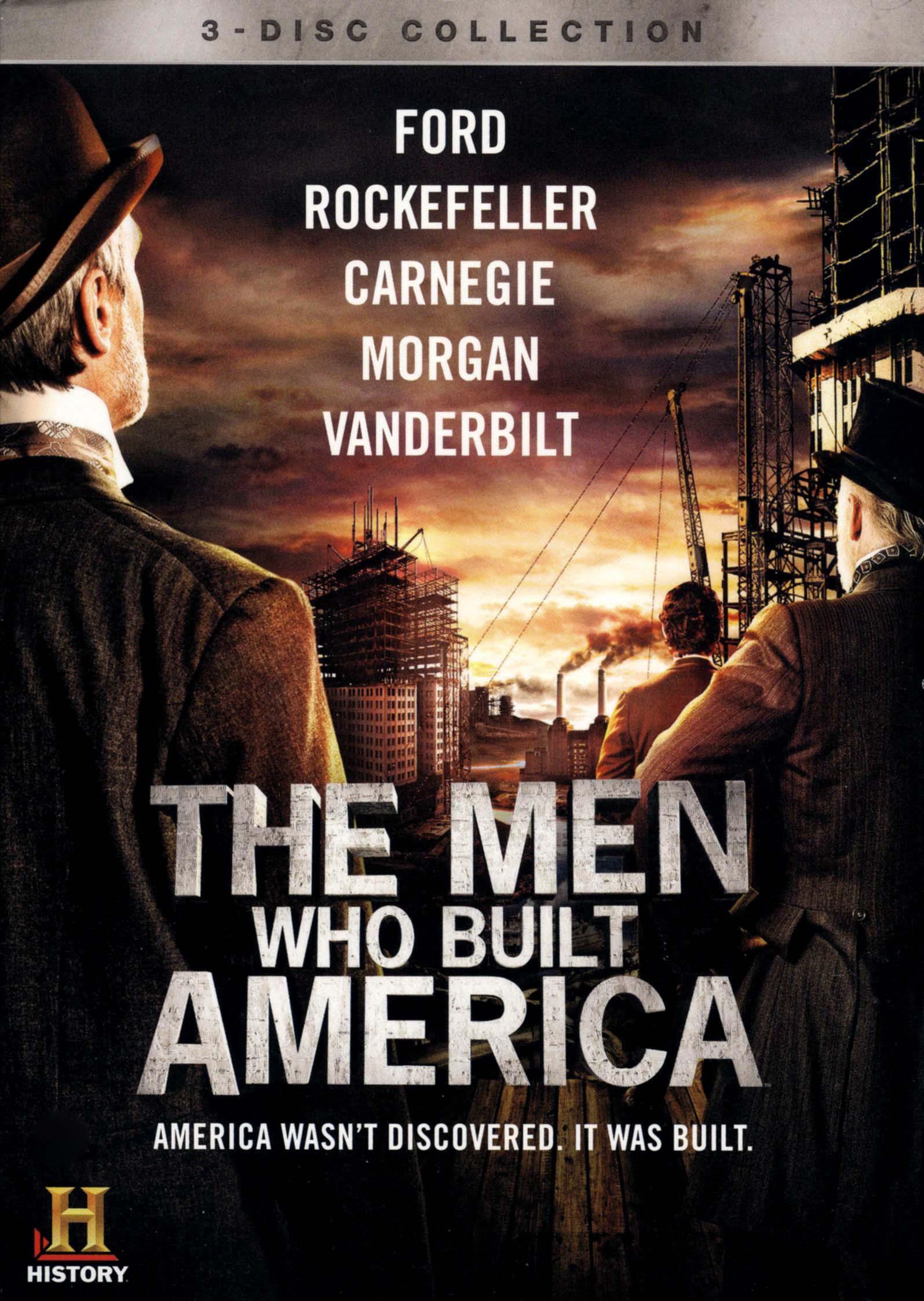 The Men Who Built America [3 Discs] (dvd) 7147082