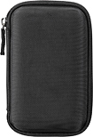 Insignia™ - Hard Shell Case for Most Portable Hard Drives - Black