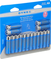 Dynex™ - AA Batteries (16-Pack) - Blue/Silver
