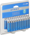 Dynex™ - AAA Batteries (36-Pack) - Blue/Silver