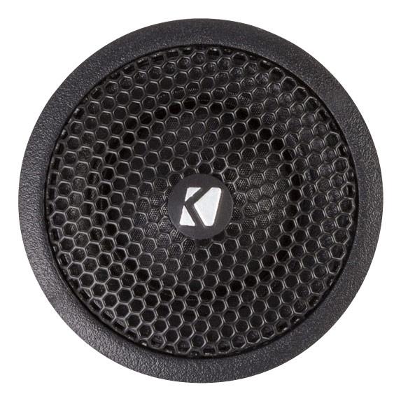 """Kicker - KS Series 1"""" Car Tweeters (Pair) - Black"""