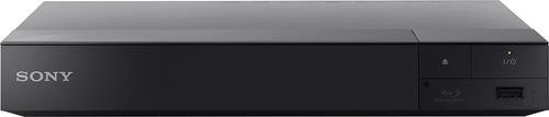 Sony - BDPS6500 – Streaming 4K Upscaling 3D Wi-Fi Built-In Blu-ray Player - Black BDPS6500