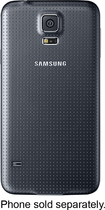 Samsung - Wireless Charging Cover for Samsung Galaxy S 5 Cell Phones - Black