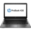 "HP - ProBook 13.3"" Touch-Screen Laptop - Intel Celeron - 4GB Memory - 500GB Hard Drive - Black/Silver"