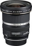 Canon - EF-S 10-22mm f/3.5-4.5 USM Ultra-Wide Zoom Lens - Black
