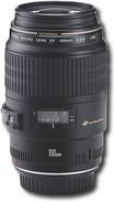 Canon - EF 100mm f/2.8 USM Macro Lens