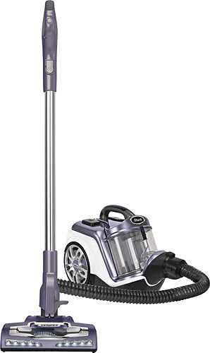 Shark - Rotator Powered Lift-Away Bagless Canister Vacuum - Rose/Gunmetal