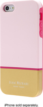 Isaac Mizrahi New York - Color Block Case for Apple® iPhone® 5 and 5s - Light Pink/Gold