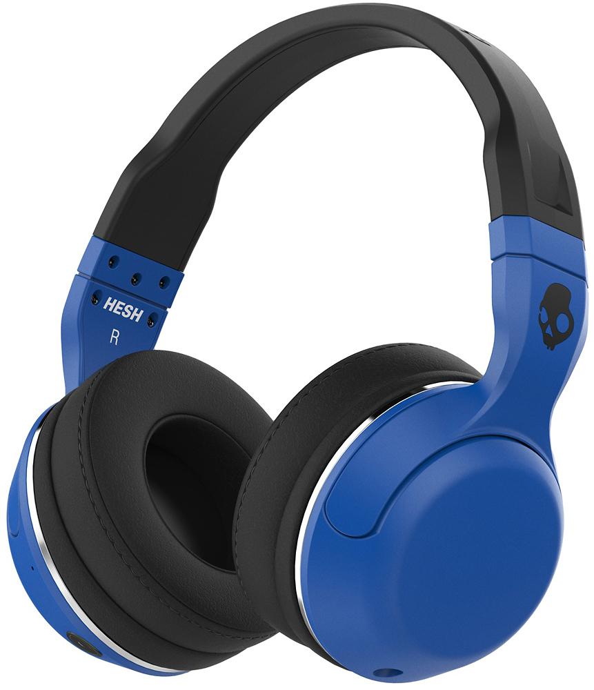 Skullcandy - Hesh 2 Wireless Over-the-ear Headphones - Blue/black