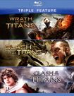 Wrath Of The Titans/clash Of The Titans (2010)/clash Of The Titans (1981) [3 Discs] [blu-ray] 7192397