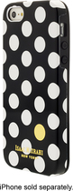 Isaac Mizrahi New York - Spot Dot Case for Apple® iPhone® 5 and 5s - Black/White