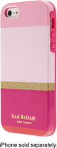 Isaac Mizrahi New York - Stripes Case for Apple® iPhone® 5 and 5s - Pink