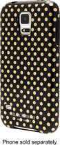 Isaac Mizrahi New York - Case for Samsung Galaxy S 5 Cell Phones - Black/Gold