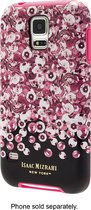 Isaac Mizrahi New York - Case for Samsung Galaxy S 5 Cell Phones - Pink/Black