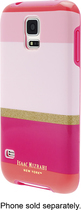 Isaac Mizrahi New York - Case for Samsung Galaxy S 5 Cell Phones - Pink