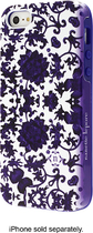 Nanette Lepore - Porcelain Ditsey Case for Apple® iPhone® 5 and 5s - Purple
