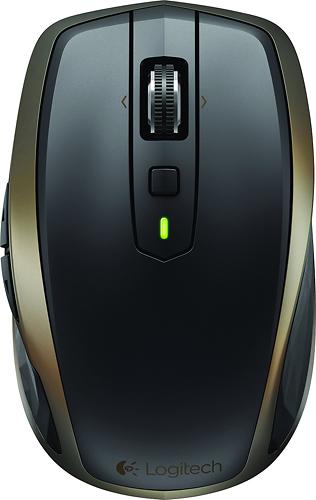 Logitech - MX Anywhere 2 Wireless Laser Mouse - Black