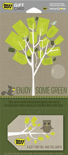 BestBuy GC - $100 Enjoy Some Green Gift Card