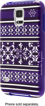 Nanette Lepore - Case for Samsung Galaxy S 5 Cell Phones - Purple