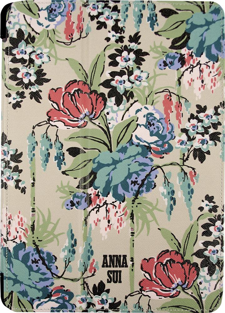 Anna Sui - Cabbage Rose Folio Hard Case for Apple® iPad® Air - Tan