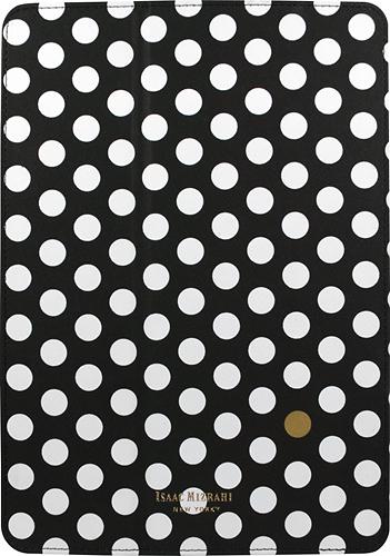 Isaac Mizrahi New York - Folio Hard Case for Apple® iPad® Air - Black/Gold