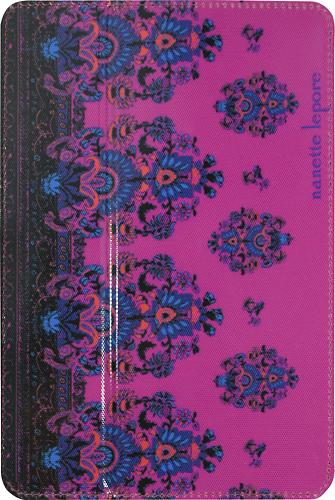 Nanette Lepore - Folio Hard Case for Apple® iPad® mini - Pink