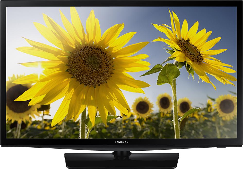 "Samsung - 28"" Class (27-1/2"" Diag.) - LED - 720p - Smart - HDTV - Black"
