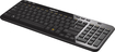 Logitech - K360 Wireless Keyboard - Black