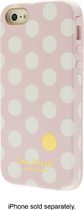 Isaac Mizrahi New York - Spot Dot Case for Apple® iPhone® 5 and 5s - Light Pink/White