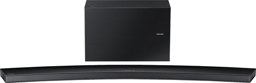 Samsung - 9.1-Channel Curved Soundbar with 8 Wireless Active Subwoofer - Black