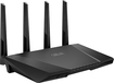 Asus - Extreme Wireless-AC2400 Dual-Band Gigabit Router - Black
