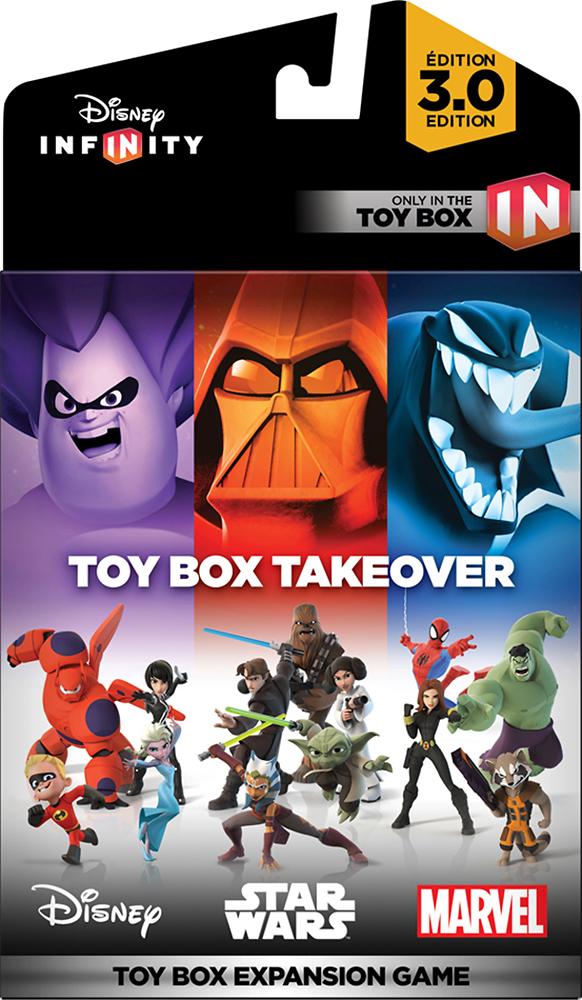 Disney Interactive Studios - Disney Infinity: 3.0 Edition Toy Box Takeover Expansion Game (pre-order Bonus) - Multi 7243027