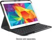 Logitech - Type S Bluetooth Keyboard Case for Samsung Galaxy Tab S 10.5 - Black