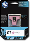 HP - 02 Light Magenta Original Ink Cartridge - Light Magenta