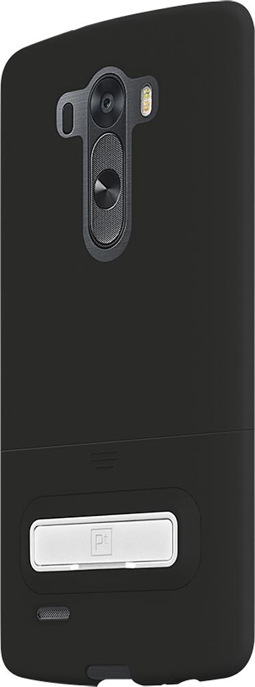 Platinum - Holster Case for LG G3 Cell Phones - Black